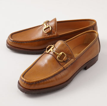 Silvano Lattanzi Bit Loafer in Golden Tan