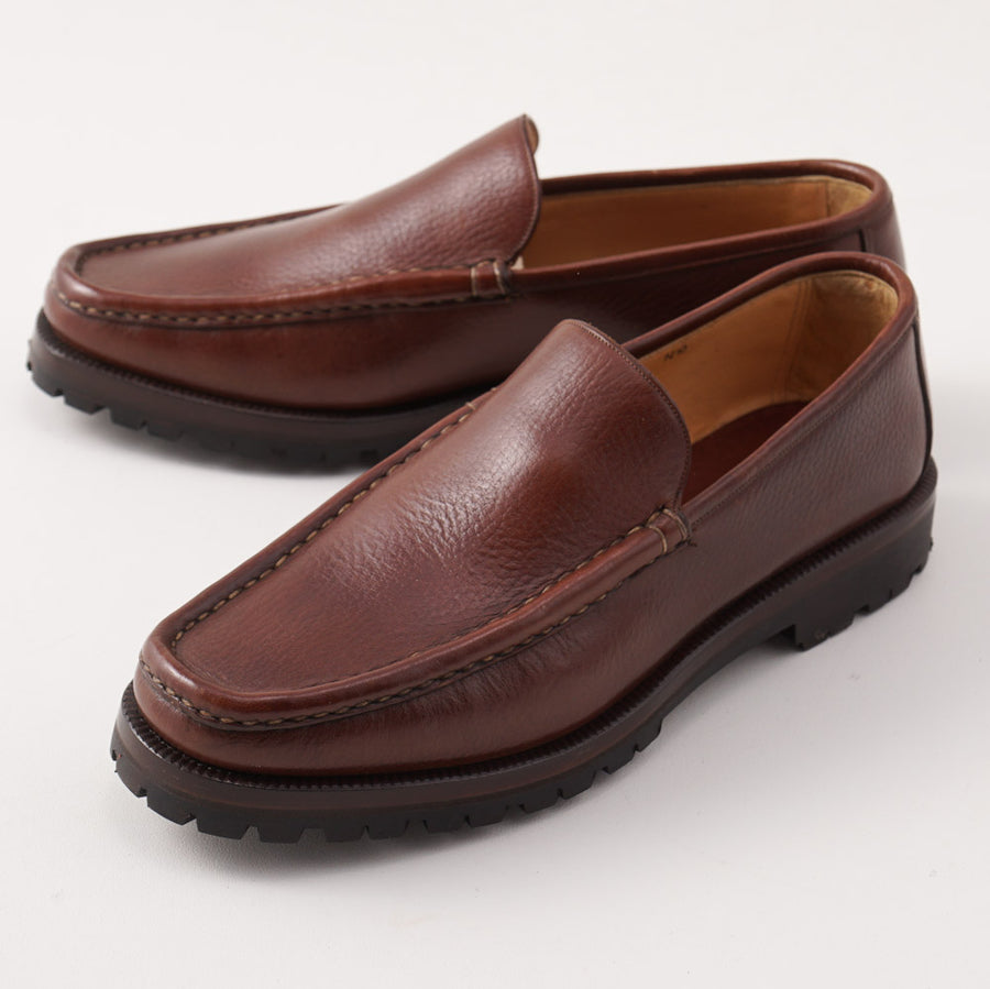 Silvano Lattanzi Lug Sole Loafer in Brown