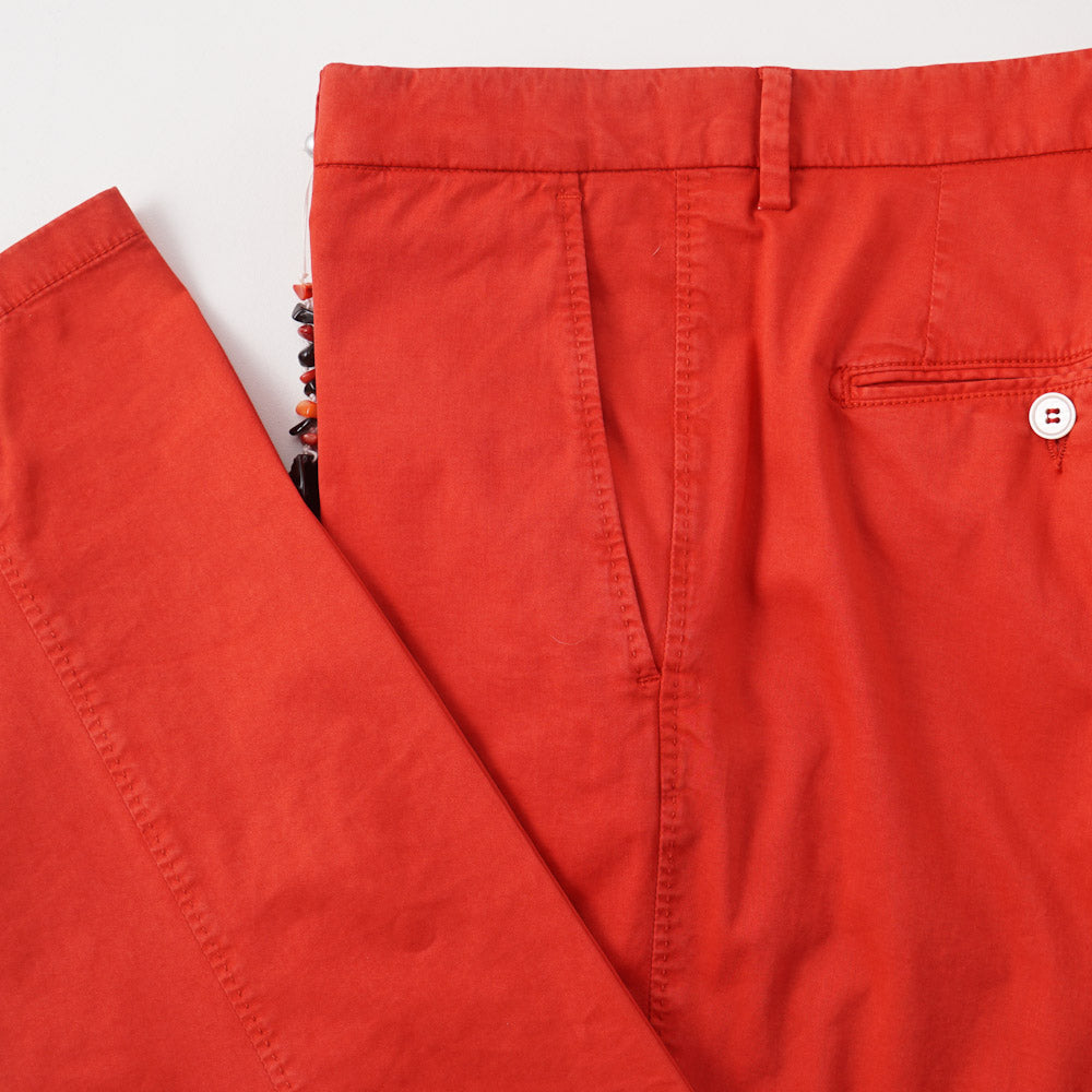 bright red chinos