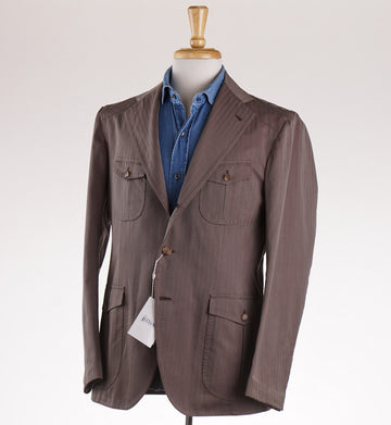 Orazio Luciano Four Pocket Cotton Blazer - Top Shelf Apparel