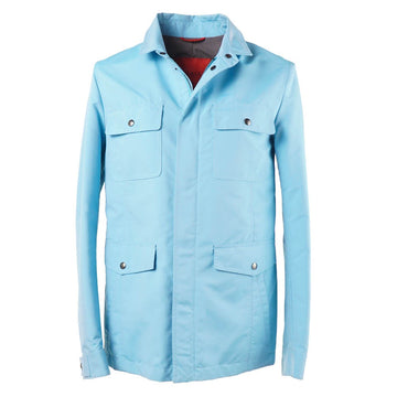Isaia 'Aqua Canvas' Field Jacket - Top Shelf Apparel