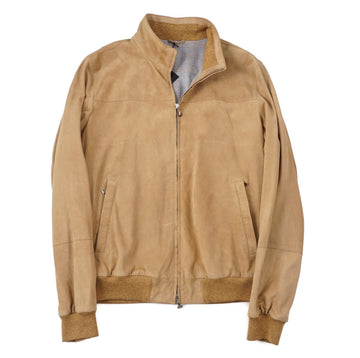 Cesare Attolini Nappa Suede Bomber Jacket - Top Shelf Apparel