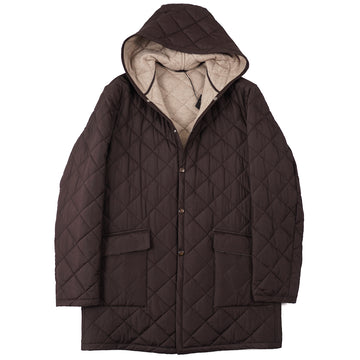 Cesare Attolini Cashmere-Lined Quilted Parka