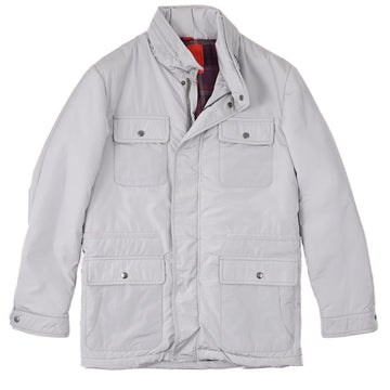 Isaia 'Extralight Aqua' Field Jacket - Top Shelf Apparel