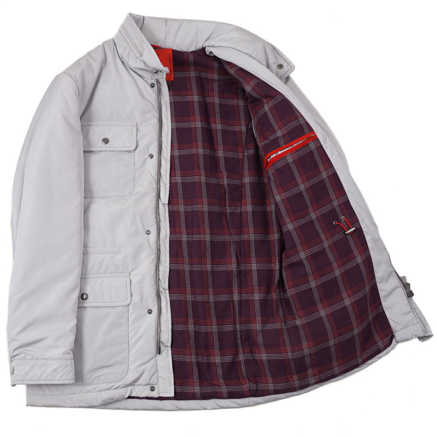 Isaia 'Extralight Aqua' Field Jacket