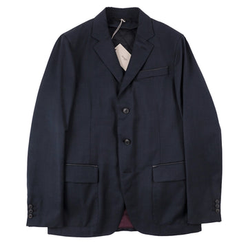 Brioni Water-Repellent Wool Blazer with Detachable Gilet