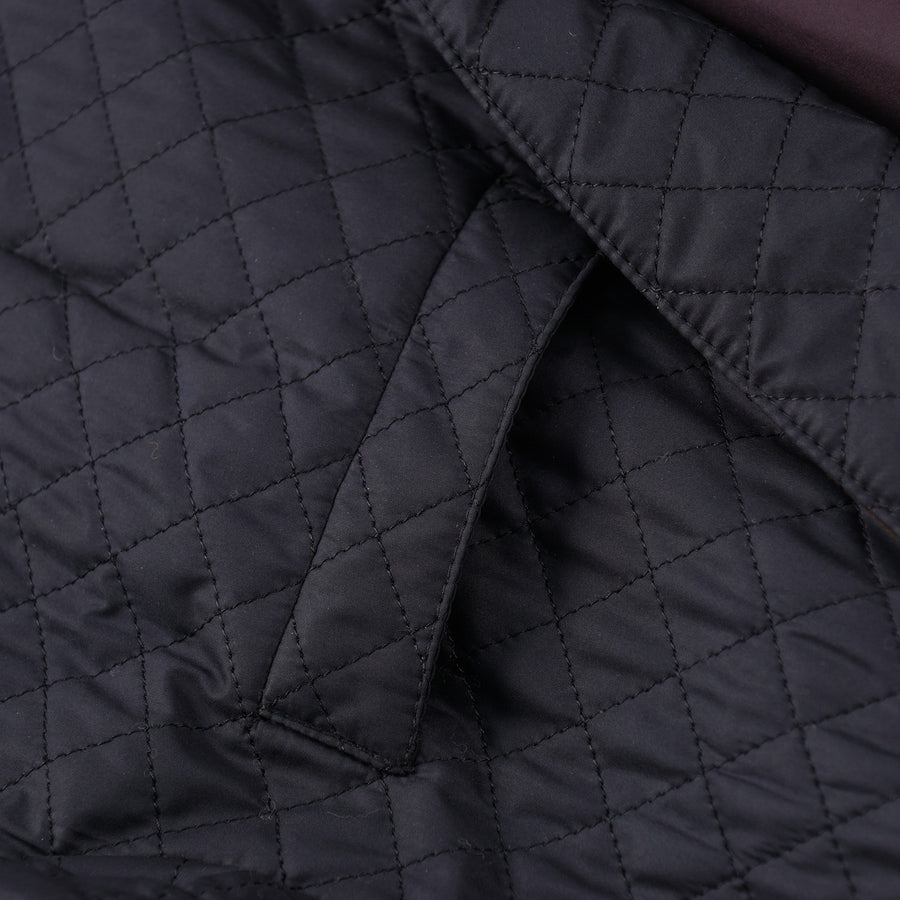 Luciano Barbera Quilted Puffer Blazer - Top Shelf Apparel