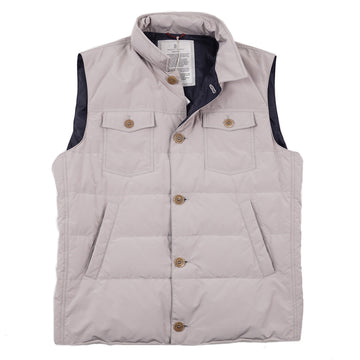 Brunello Cucinelli Lightweight Down-Filled Vest