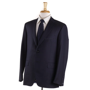 Oxxford 'Capitol' Solid Navy 140s Wool Suit