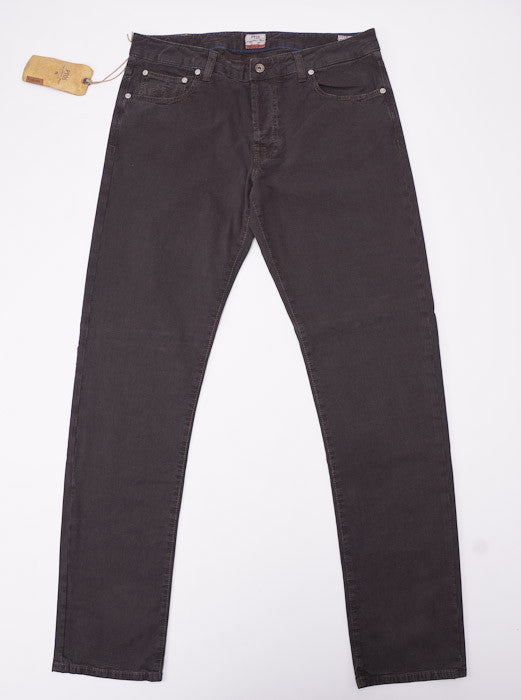 PT01 Dark Brown Chino-Jeans 36W - Top Shelf Apparel - 2