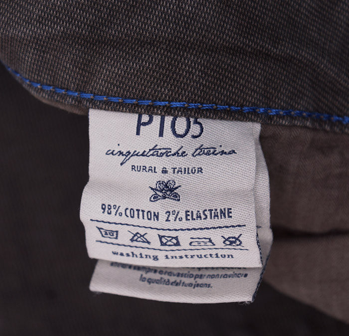 PT01 Dark Brown Chino-Jeans 36W - Top Shelf Apparel - 7