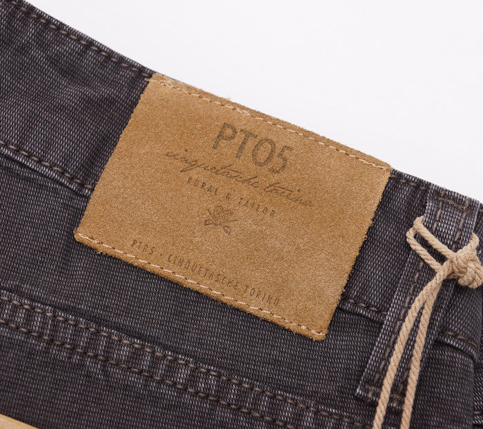 PT01 Dark Brown Chino-Jeans 36W - Top Shelf Apparel - 9