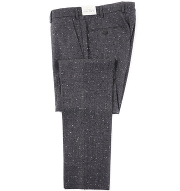 L.B.M. 1911 Gray Houndstooth Wool Pants
