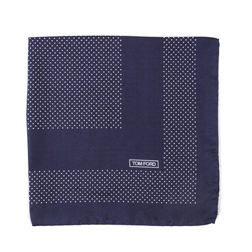 Tom Ford Dot Print Pocket Square
