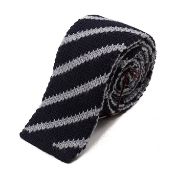 Roda Reversible Knit Wool Tie - Top Shelf Apparel