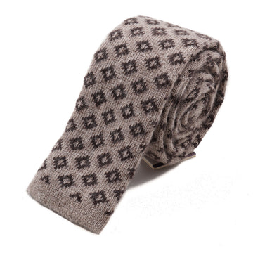 Roda Knit Wool and Cashmere Tie