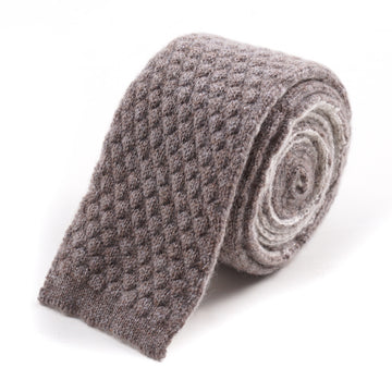Roda Reversible Knit Cashmere Tie - Top Shelf Apparel