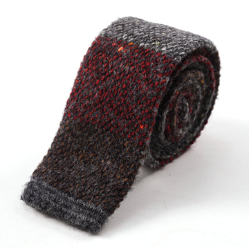 Roda Knit Donegal Wool and Cashmere Tie