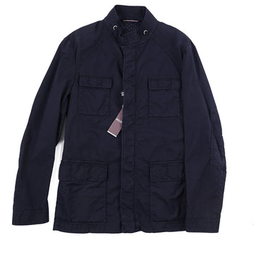 Roda 'Sapporo' Jacket in Navy Cotton
