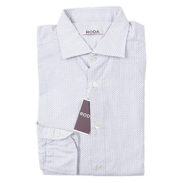 Roda Jacquard Print Cotton Shirt