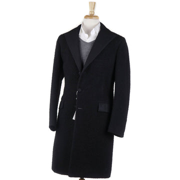 Orazio Luciano Casentino Wool Coat in Black - Top Shelf Apparel