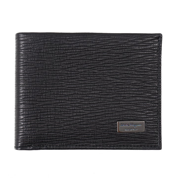Ferragamo Textured Leather Slim Wallet