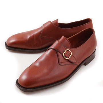 Silvano Lattanzi Monk Strap in Acorn Brown