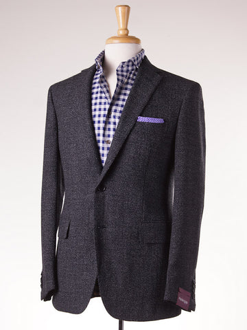 Sartoria Partenopea Dark Gray Melange Sport Coat - Top Shelf Apparel - 1