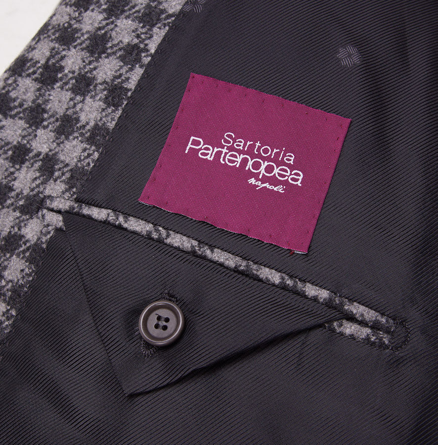 Sartoria Partenopea Wool-Silk-Cashmere Sport Coat - Top Shelf Apparel - 9