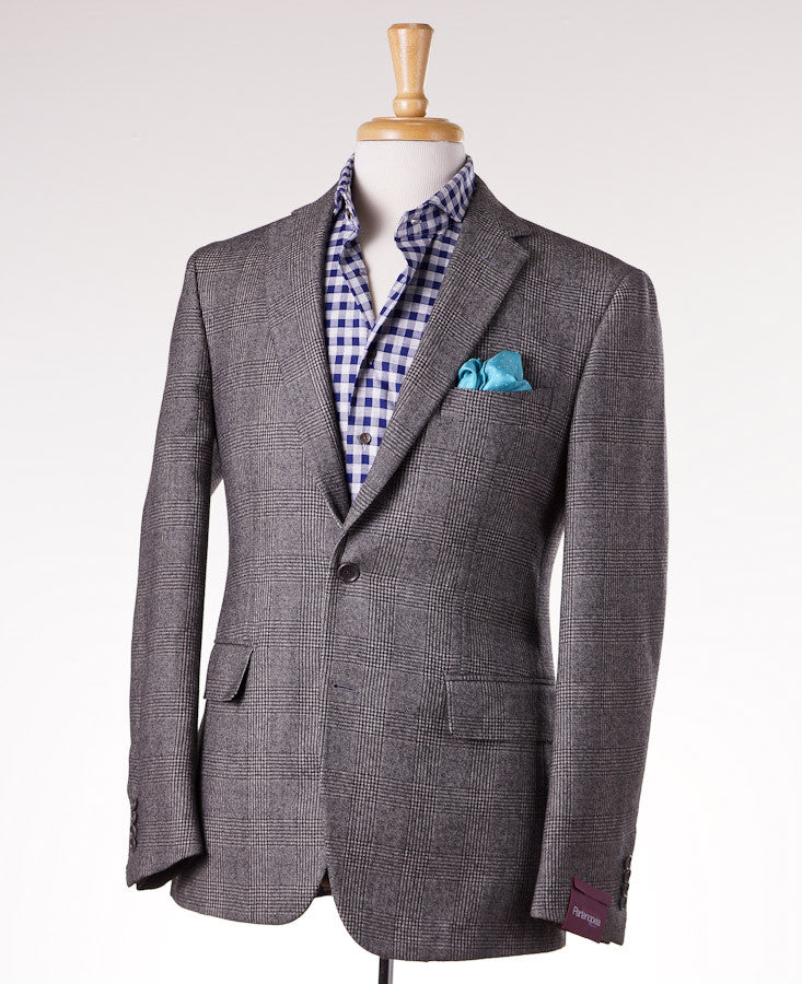 Sartoria Partenopea Gray Glen Check Sport Coat - Top Shelf Apparel - 1