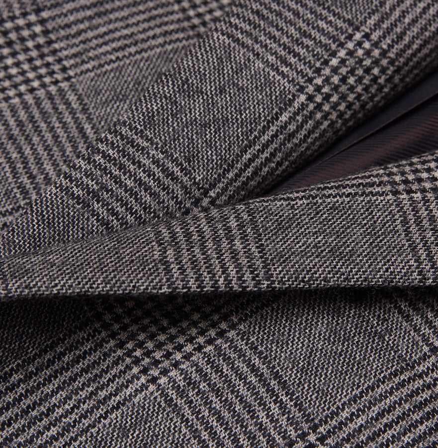 Sartoria Partenopea Gray Glen Check Sport Coat - Top Shelf Apparel - 3