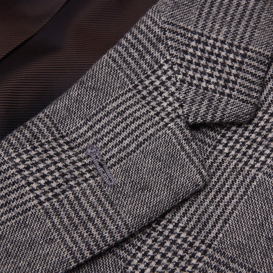 Sartoria Partenopea Gray Glen Check Sport Coat - Top Shelf Apparel - 4
