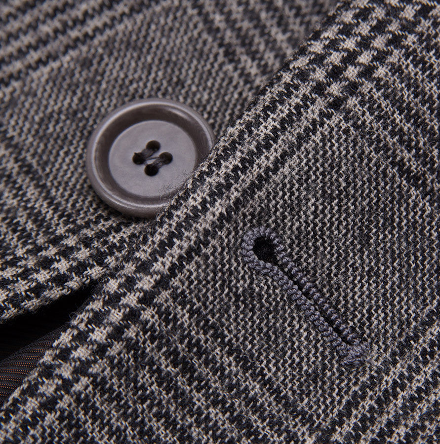 Sartoria Partenopea Gray Glen Check Sport Coat - Top Shelf Apparel - 6