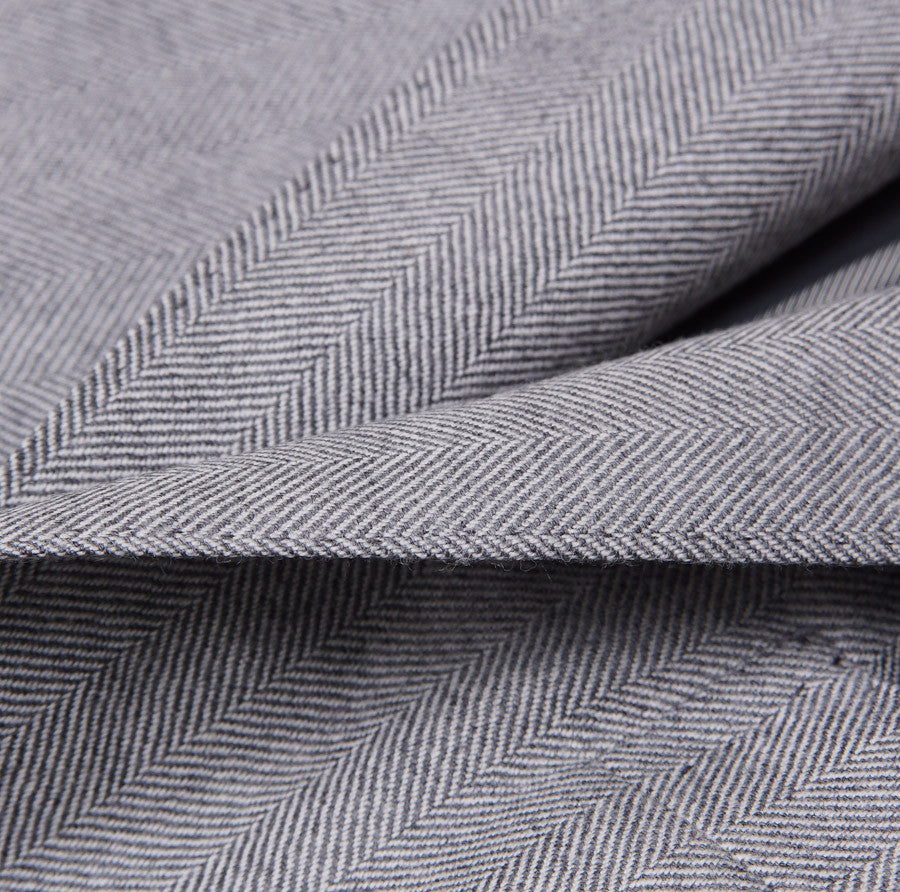 Sartoria Partenopea Gray Herringbone Sport Coat - Top Shelf Apparel - 3