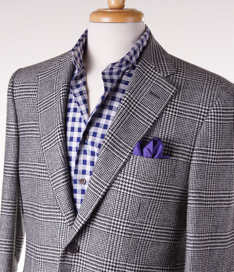 Sartoria Partenopea Glen Plaid Sport Coat - Top Shelf Apparel - 2