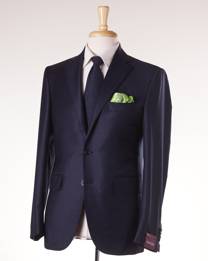 Sartoria Partenopea Navy Stripe Wool-Cashmere Suit - Top Shelf Apparel - 1
