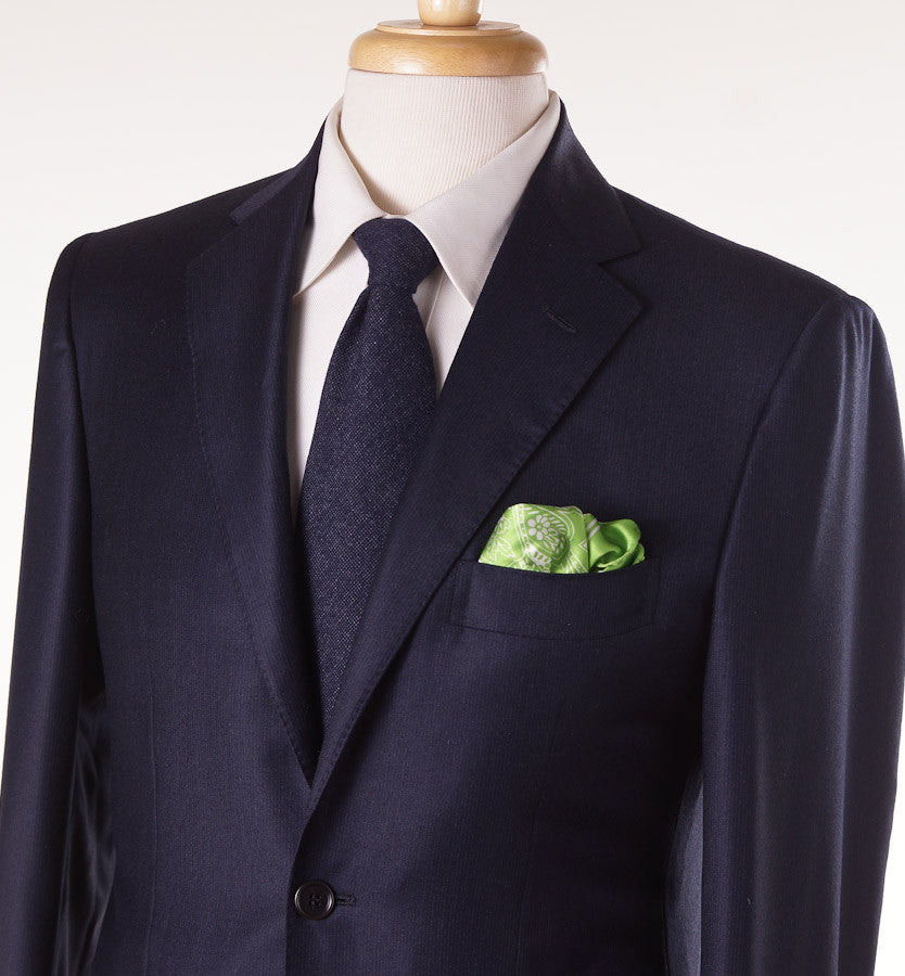 Sartoria Partenopea Navy Stripe Wool-Cashmere Suit - Top Shelf Apparel - 2