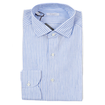Boglioli Extra-Slim Linen and Cotton Shirt - Top Shelf Apparel