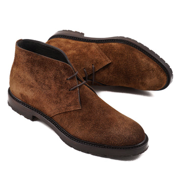 Canali Brown Suede Chukka Boot