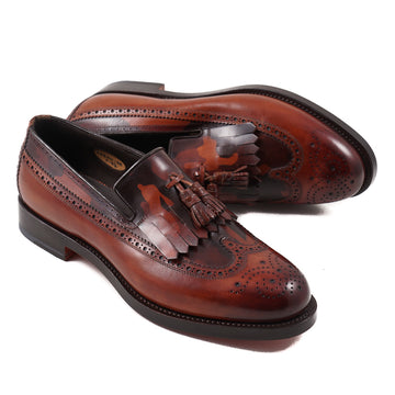 Santoni Goodyear-Welt Tassel Loafer - Top Shelf Apparel