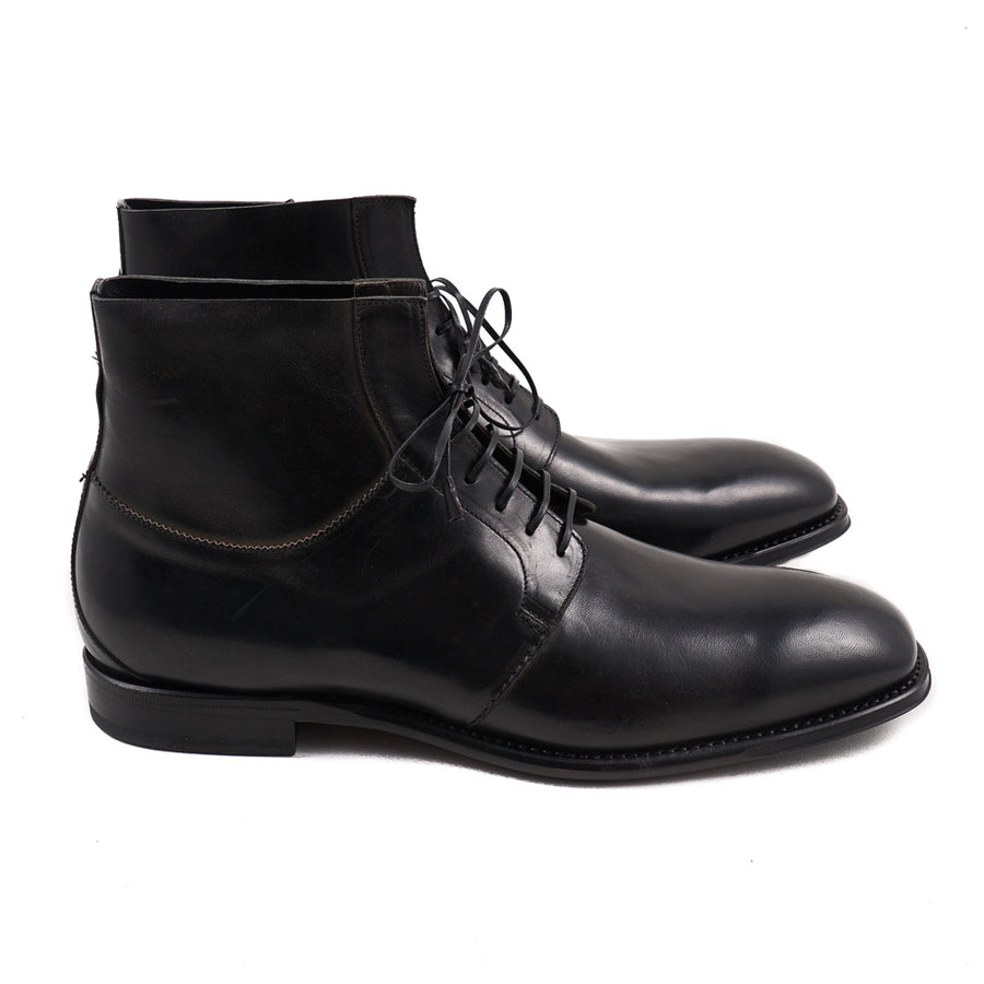 Franceschetti Ankle Boots in Antique Black