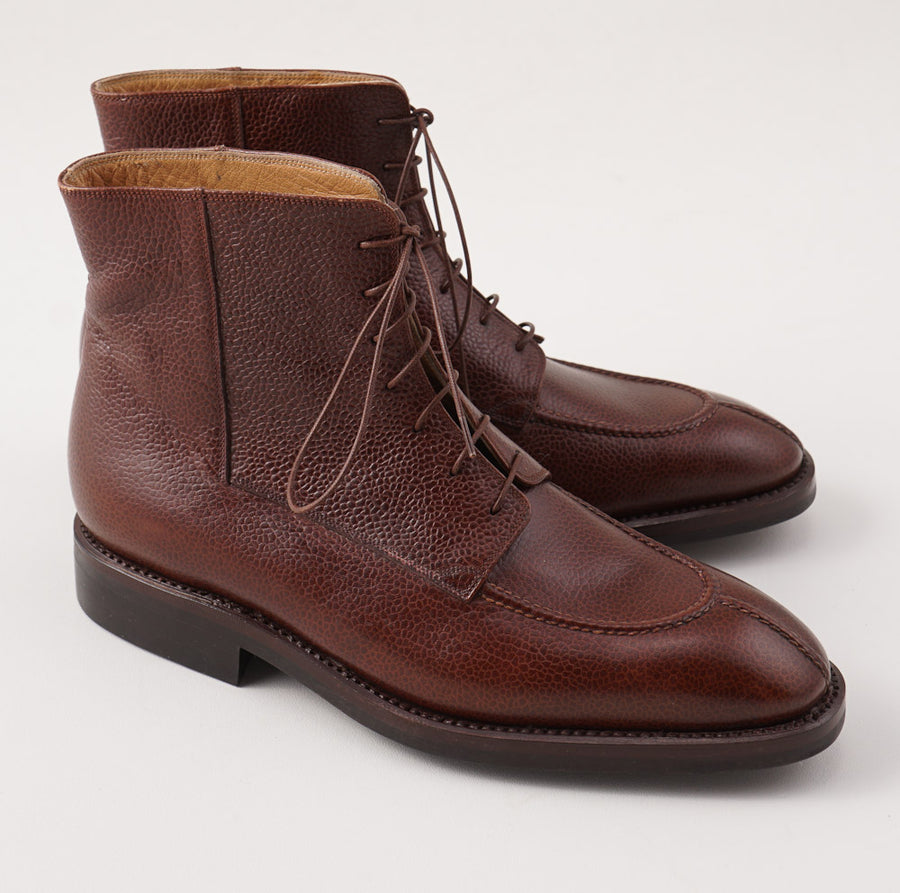 Silvano Lattanzi Algonquin Boots in Grained Brown