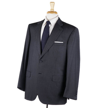 Brioni Gray Stripe Year-Round 150s Wool Suit