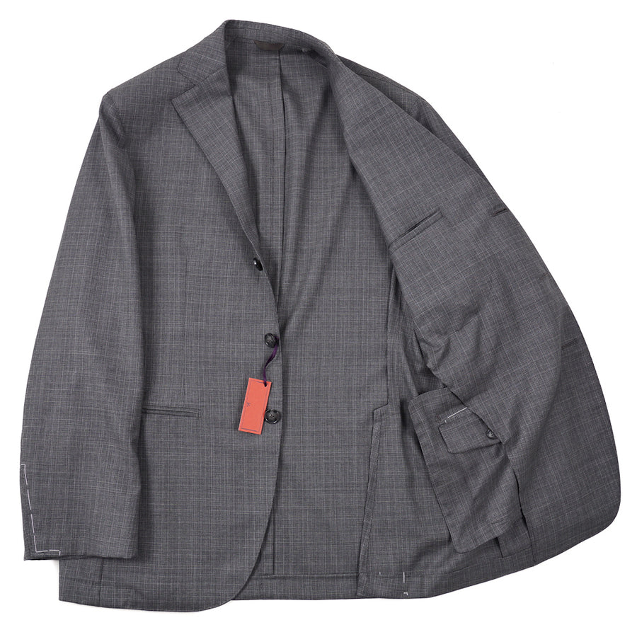 Isaia Lightweight Unlined Wool Suit