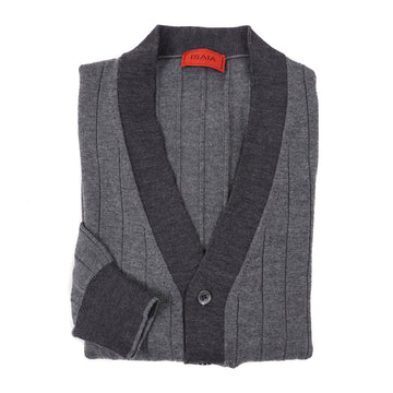 Isaia Wool-Cashmere Cardigan Sweater