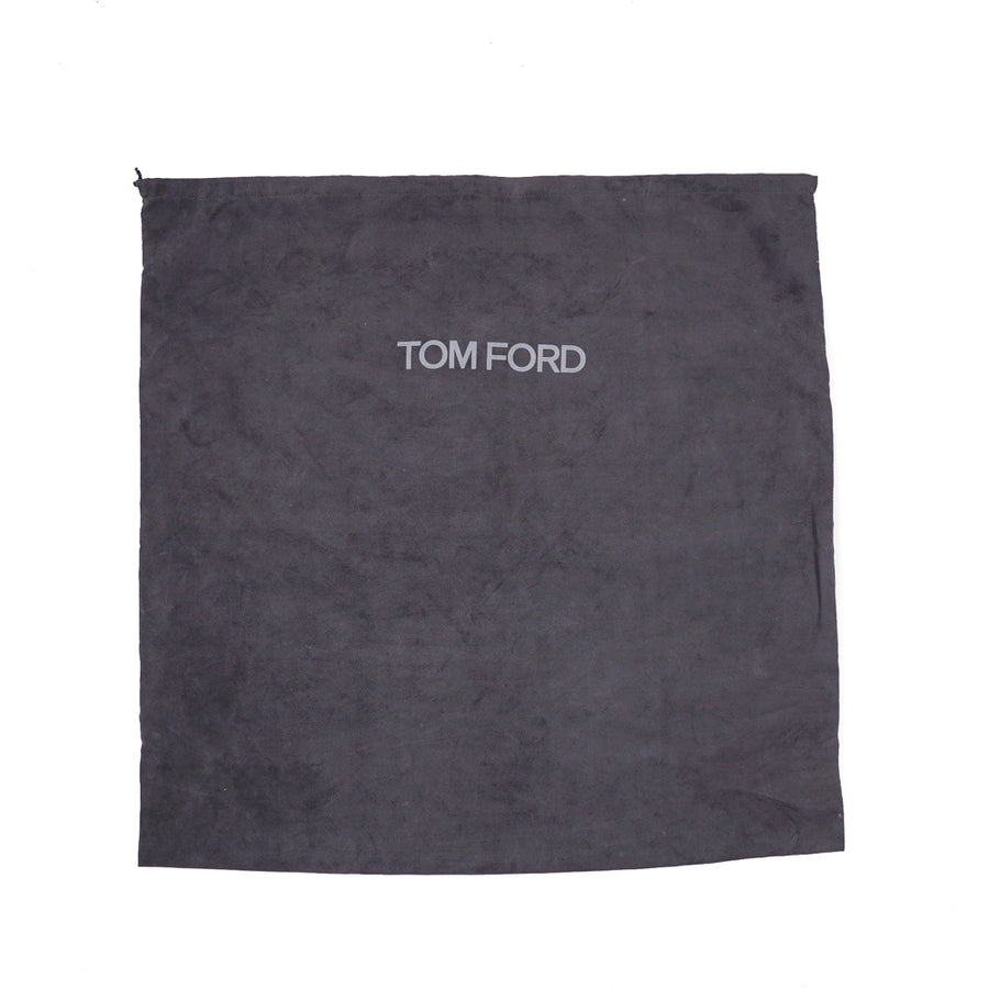 Tom Ford 'Buckley' Overnight Bag in Brown Suede - Top Shelf Apparel