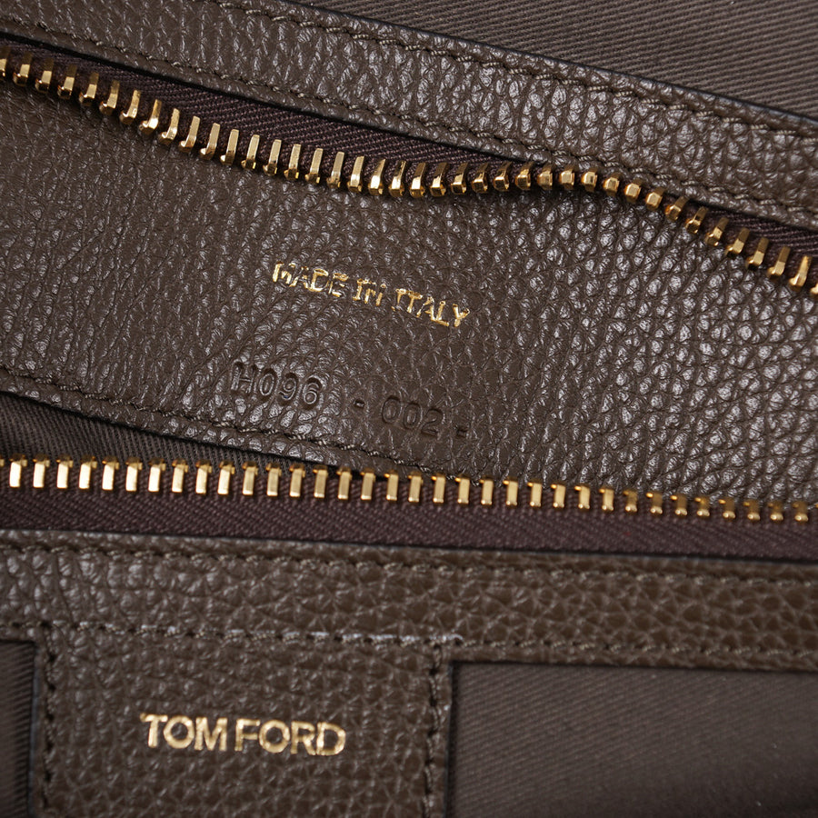 Tom Ford 'Buckley' Overnight Bag in Olive