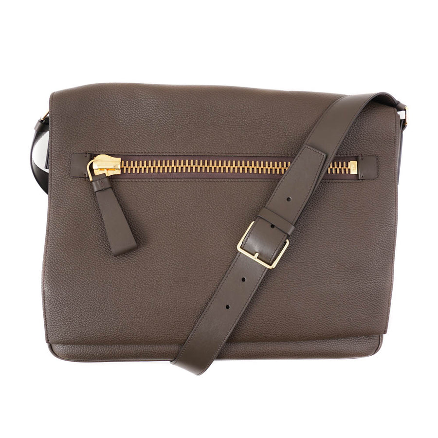 Tom Ford 'Buckley' Shoulder Bag in Olive