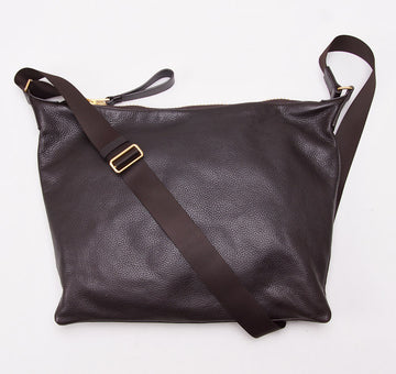 Tom Ford 'Buckley' Brown Portfolio Shoulder Bag