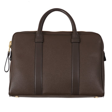 Tom Ford 'Buckley' Slim Briefcase in Olive Brown